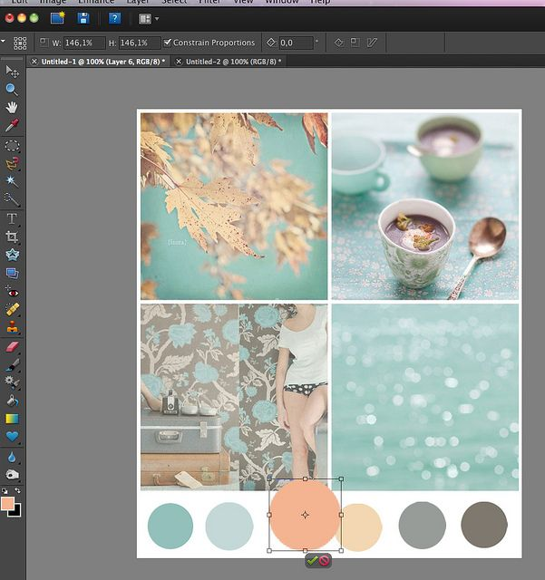 Creating Color Palettes using Photoshop