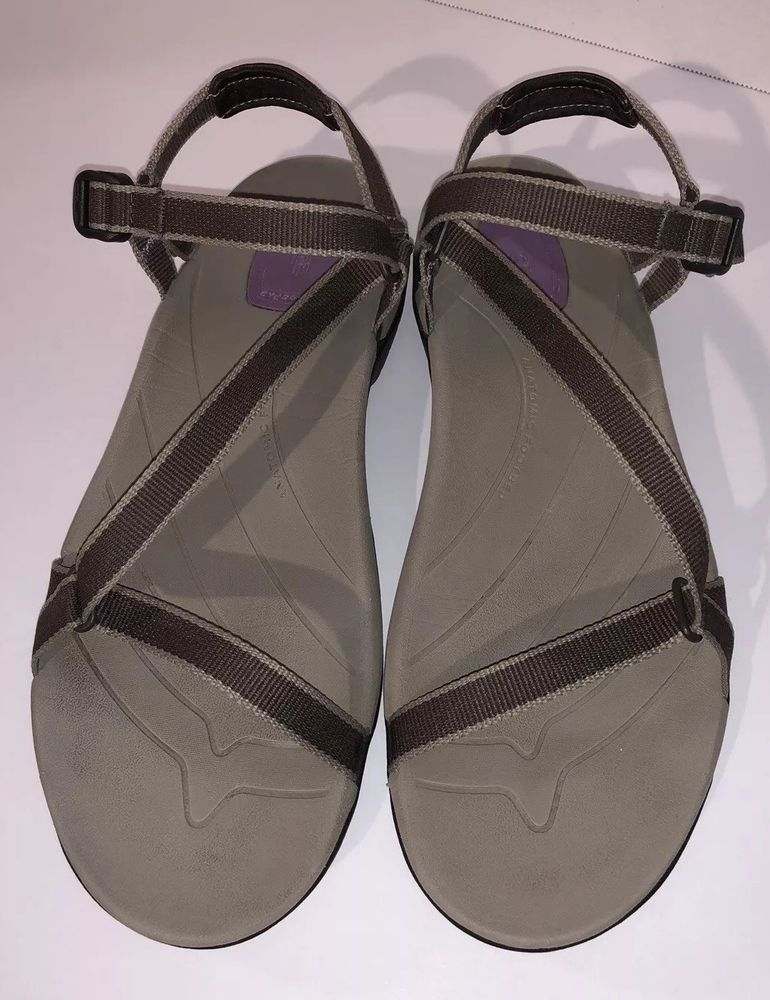 Teva Us Women's Hiking Shocpad Sport Sirra 5 Brown Size Sandals 9 Yvbgf76y