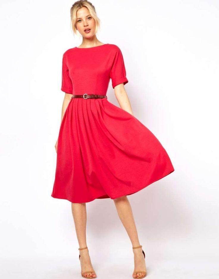 Wunderschönes Vintage Midi 100 Kleid zum sofortigen Tragen ...