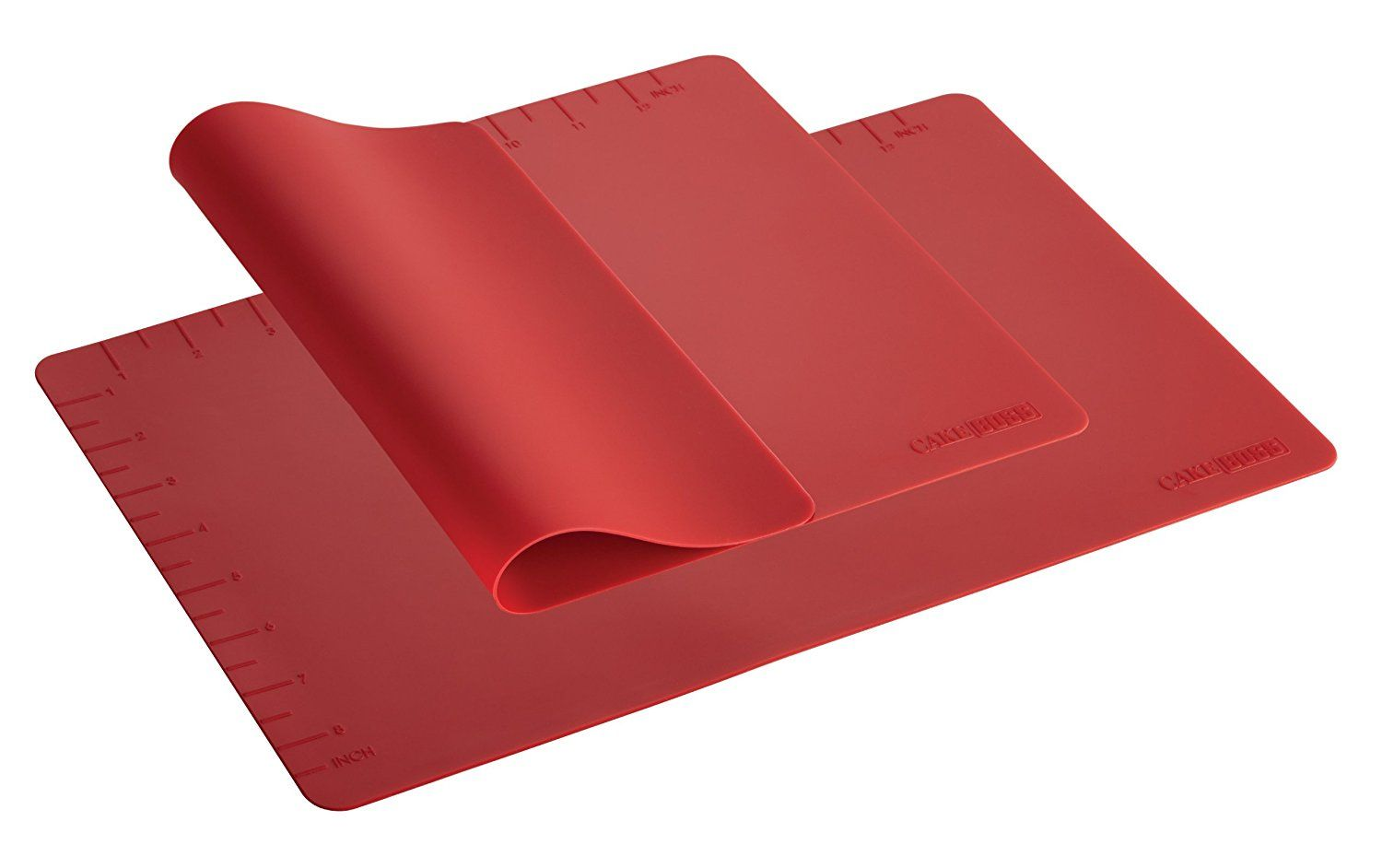 Cake Boss Countertop Accessories 2 Piece Silicone Baking Mat Set