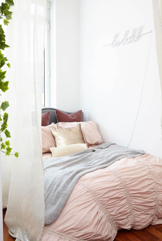 Uma Garçonnière Perfeitinha Small Spaces Bedroom