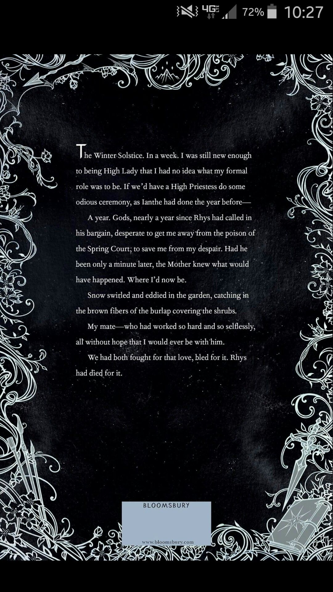 We Have A Back Cover Acofas Acotar A Court Of Mist And Fury