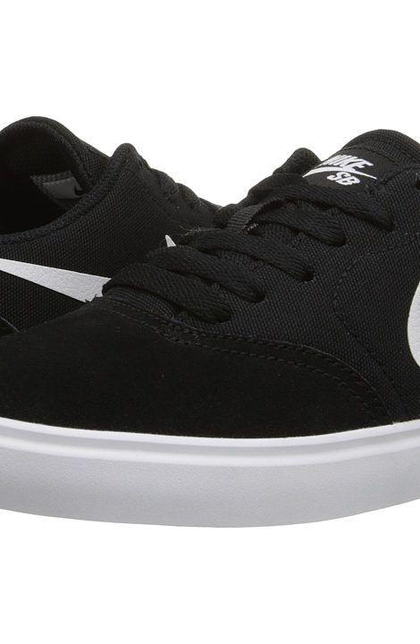 Nike SB Kids SB Check (Big Kid) (Black/White) Boys Shoes - Nike SB Kids, SB  Check (Big Kid), 705266-001, Footwear Athletic Skate, Skate, Athletic,  Footwear, ...