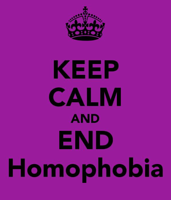 KEEP CALM AND END Homophobia