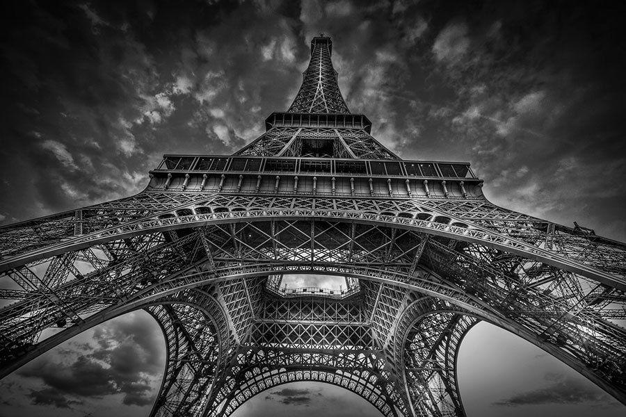 Serge Ramelli Captures Paris In Black And White Paris Eiffelturm Bilder