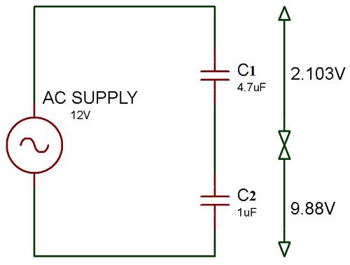 Capacitor Circuits Capacitor In Series Parallel Ac Circuits Circuit Capacitor Electronics Circuit