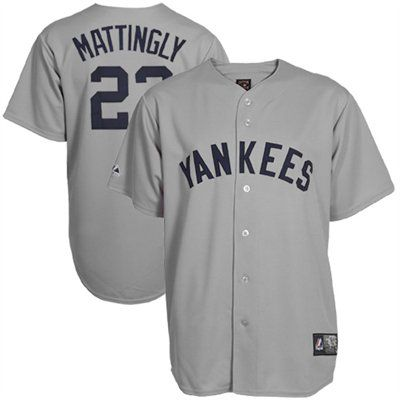 pretty nice cb862 ed5f2 Majestic Don Mattingly New York Yankees Cooperstown Fan ...