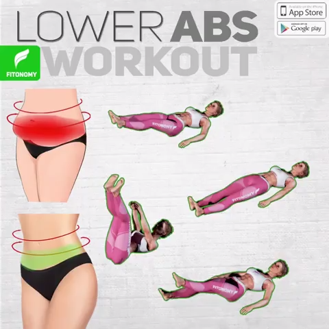 LOWER ABS WORKOUT!-#Abs #workout-LOWER ABS WORKOUT! Mariejuliekassner mariejuliekassner Fitness Tran...
