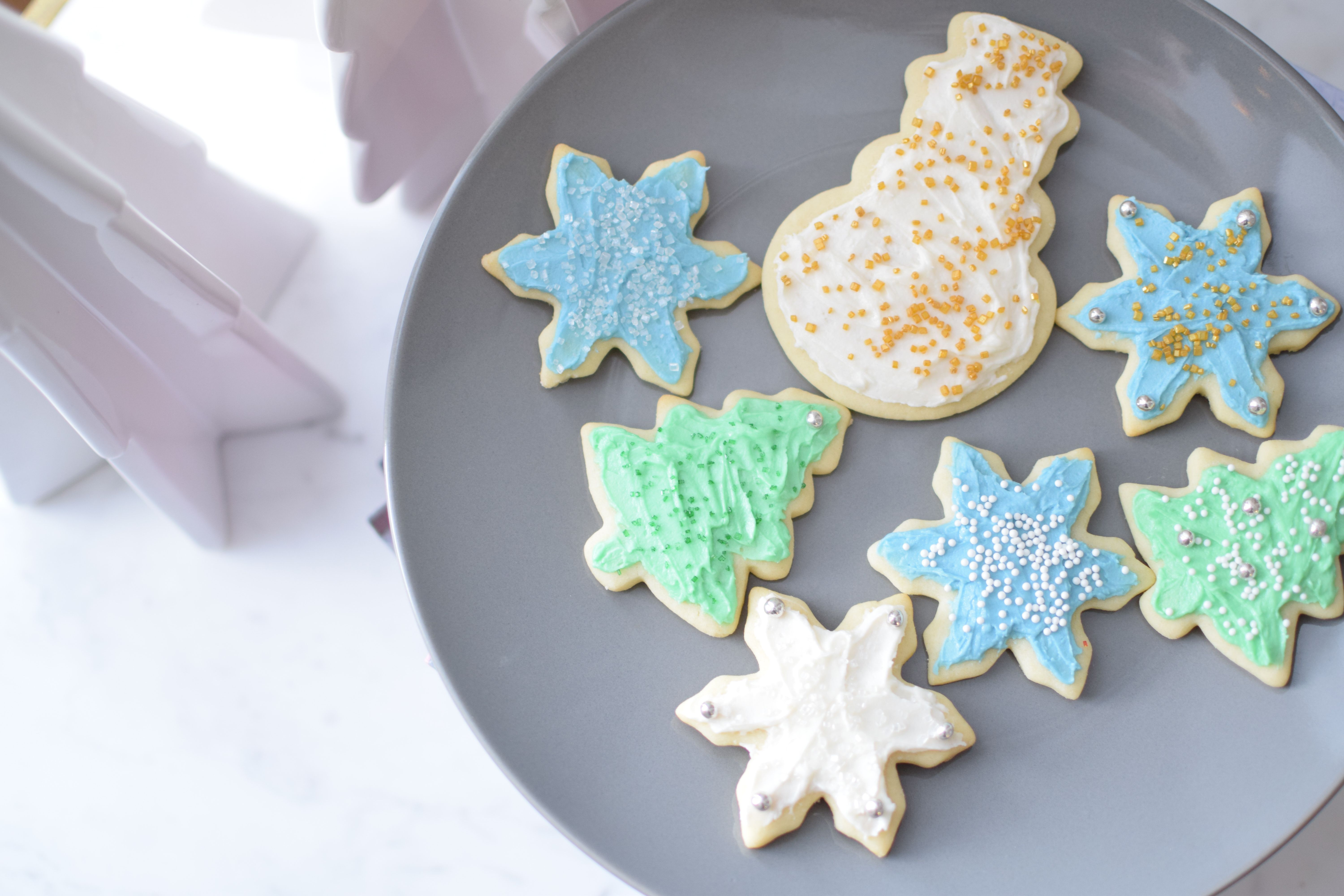 Christmas Cut-Out Cookies – The Small Things Blog | Eats- Cookies ...