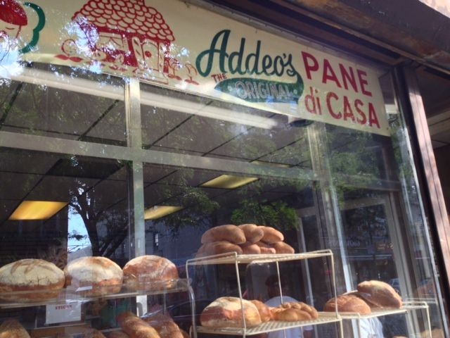 Addeo's Bakery storefront in Little Italy, #Bread #Bronx #NYC (July, 2013).