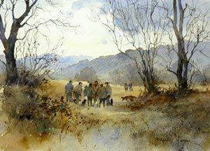 J Ralph Artist Watercolour Paintings