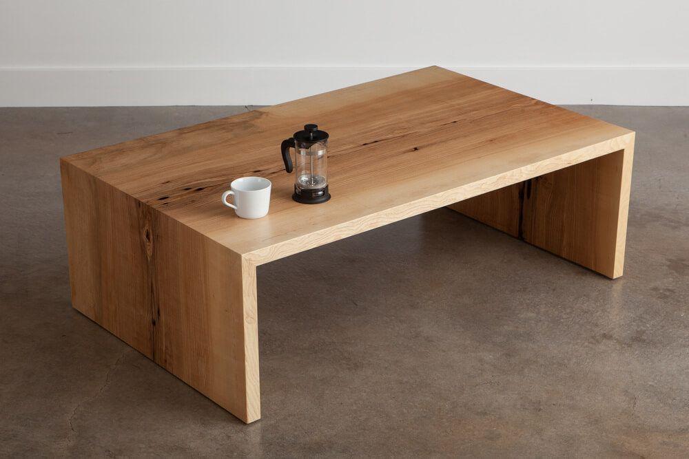 Ash Coffee Table Coffee Table Live Edge Furniture Hardwood