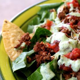 Beth Celestin: Weekly Menu Plan {Weight Watchers Style} + Recipe for Creamy Cilantro Lime Dressing