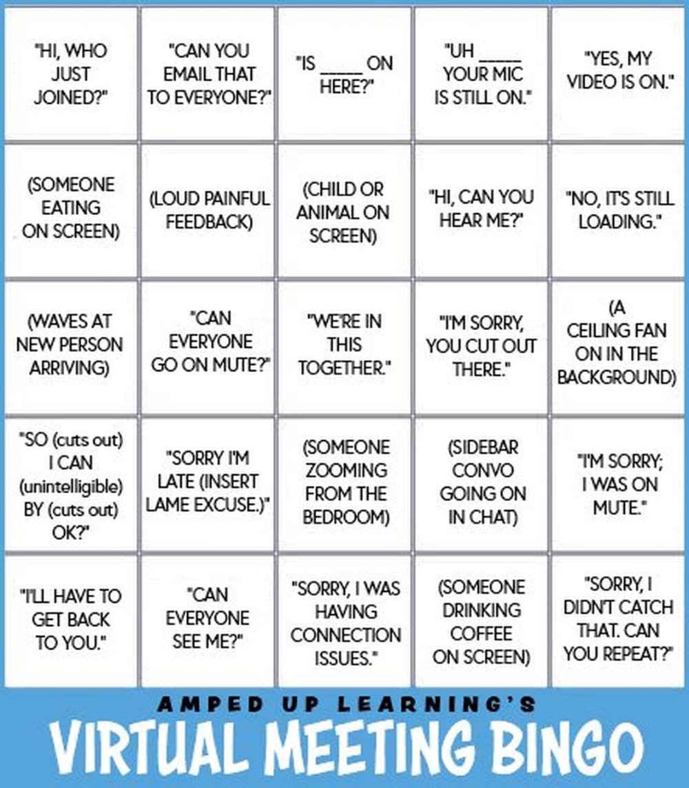 Virtual Bingo Board