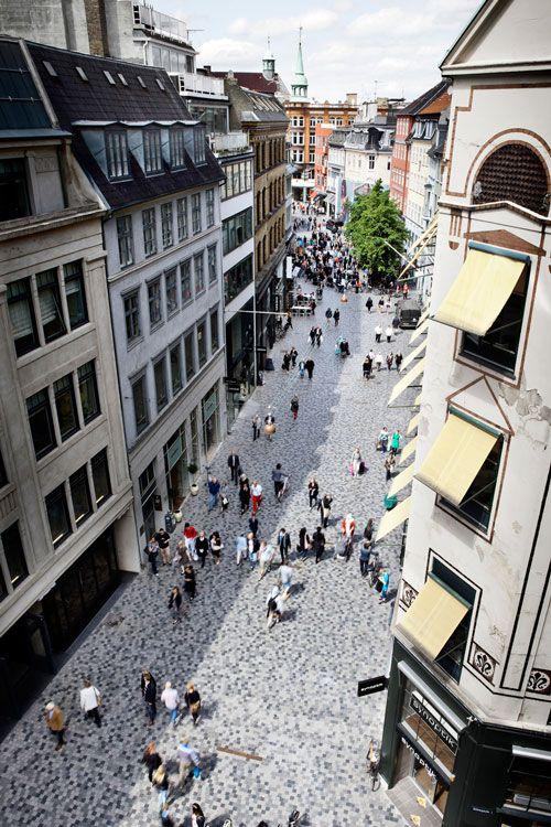 Købmagergade Shopping Street by KBP.EU (Karres en Brands + Polyform). Copenhagen, Denmark, 2009-2013.