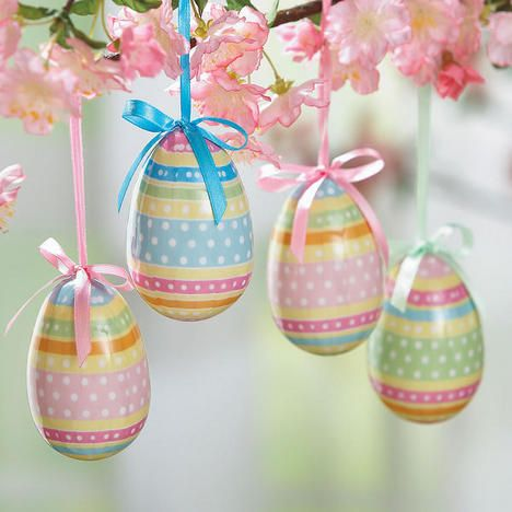Easter Egg Ornament Set $24.99