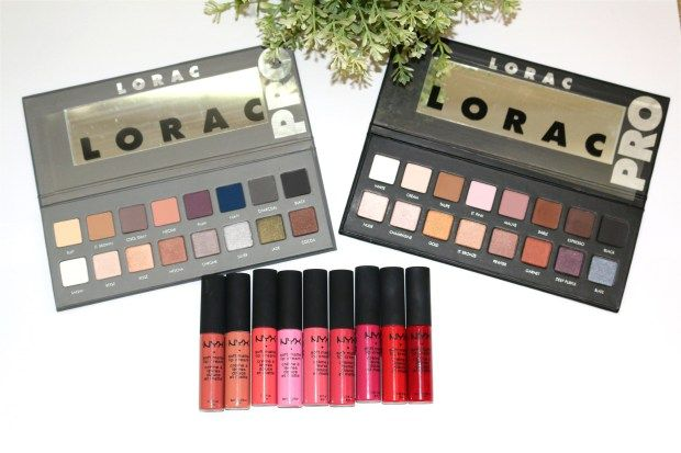 Lorac Pro palette 2 review/swatch