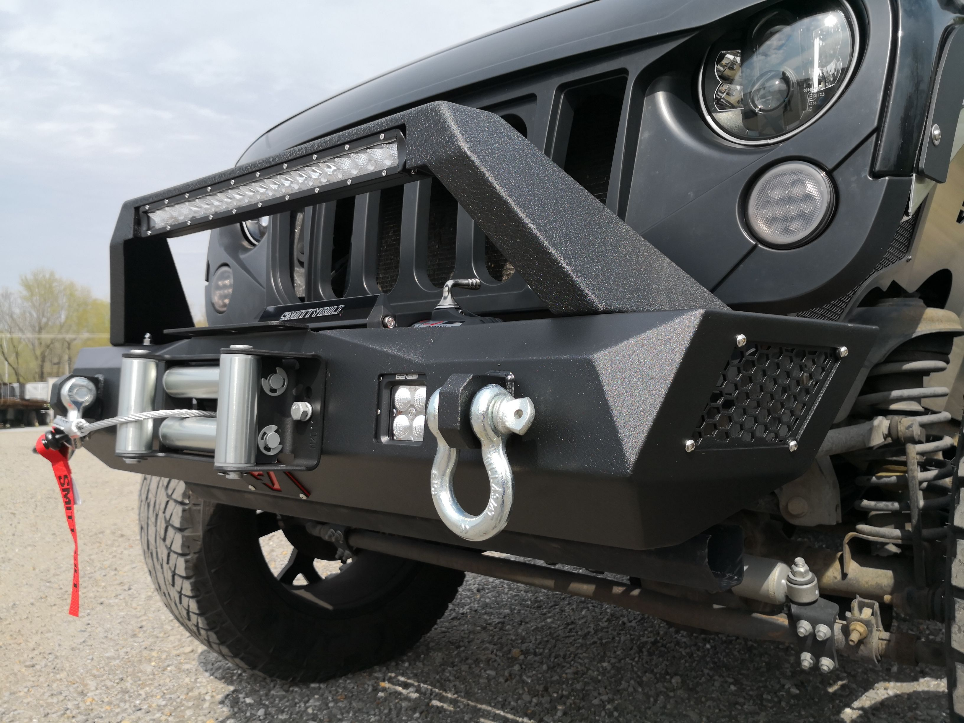 Custom Jeep Bumpers