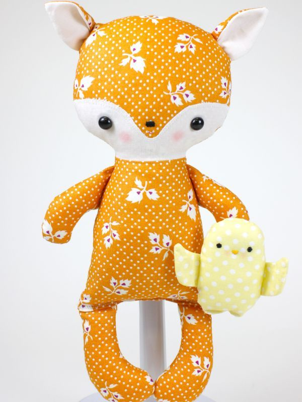 Fox Baby Pattern by bitofwhimsydolls