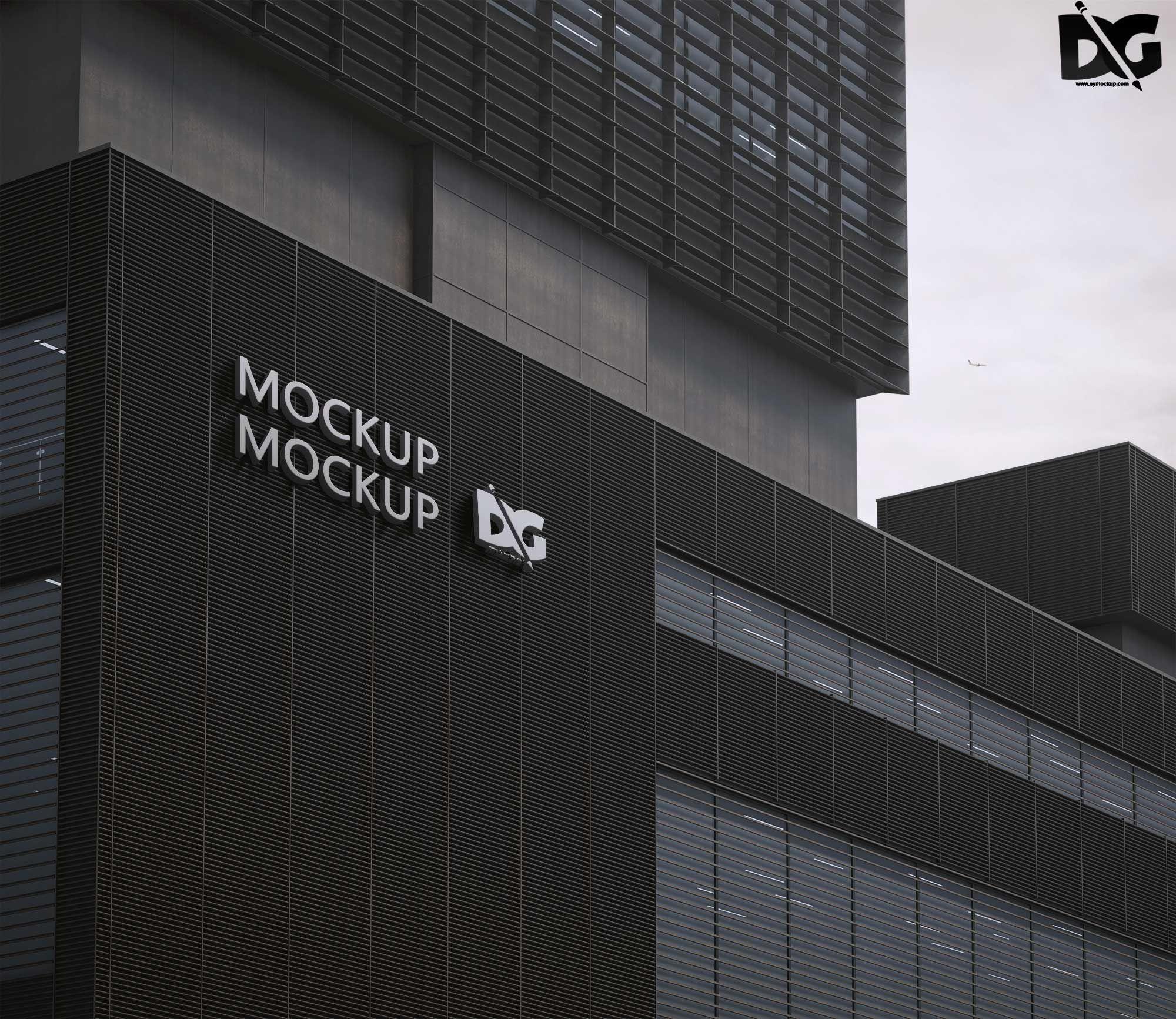 Free Premium Office Building Psd Logo Design Mockup Https Freepsdmock Up Com Free Premium Office Build Design Mockup Free Logo Design Mockup Mockup Free Psd