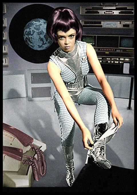 Moonbase Commander, Lieutenant Gay Ellis   BIG Hair