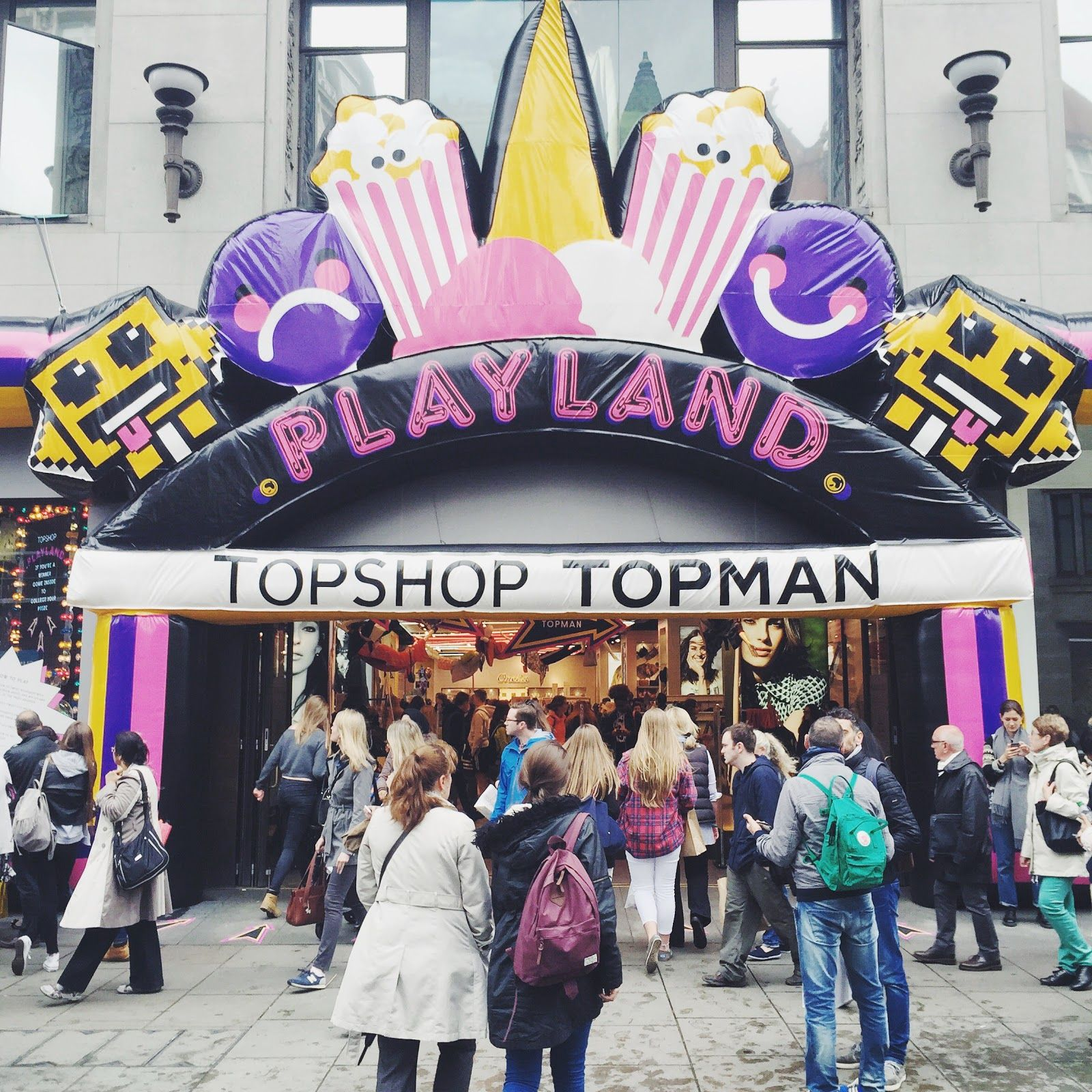 Topshop Oxford Circus, Topshop Playland