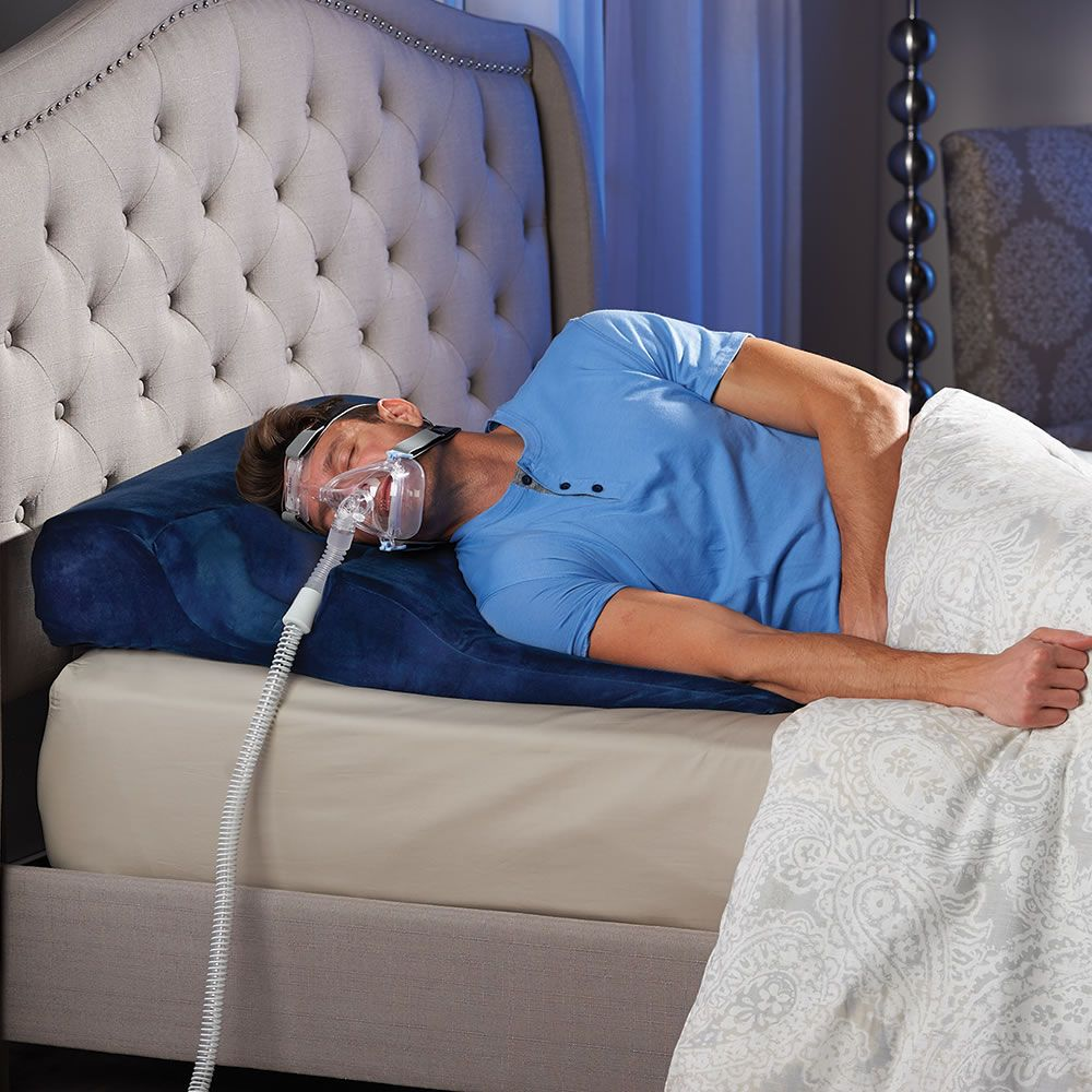 The Only Sleep Improving Cpap Bed Wedge Hammacher Schlemmer