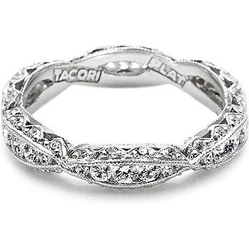 Tacori Classic Crescent Wedding Band Tacori Wedding Band Tacori Engagement Rings Eternity Band Diamond