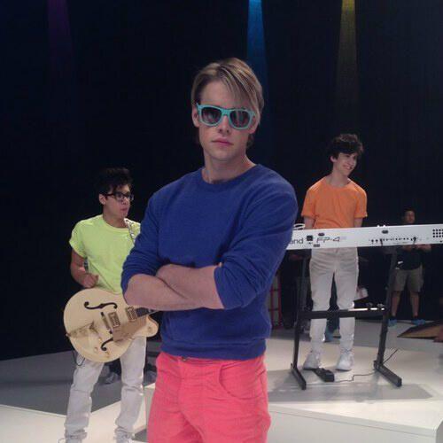 B On Twitter Glee Sam Sam Evans Glee Glee Fashion