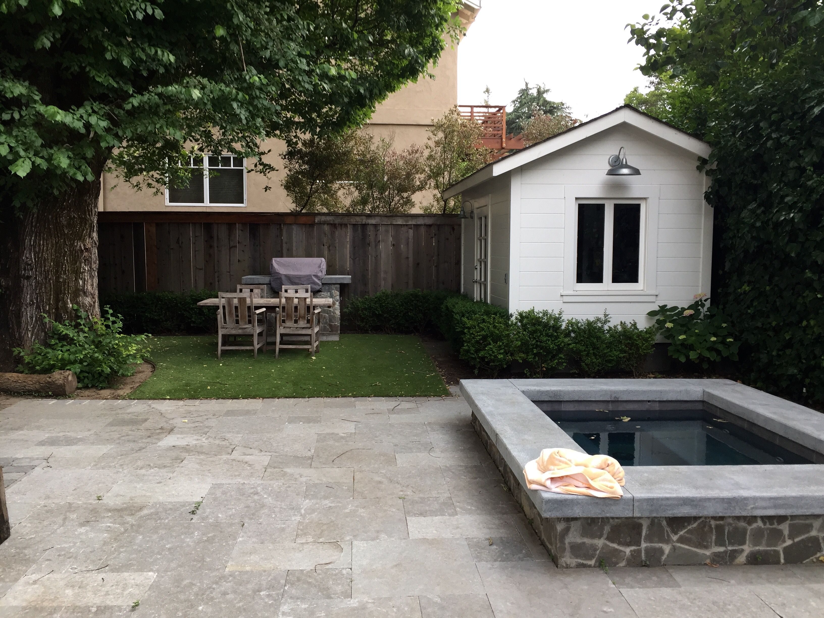 with edge keller in overflow fountains builder renovation weatherford worth equipment hot traditional ground and tub spa down ft pool wet zodiac head step lion plaster
