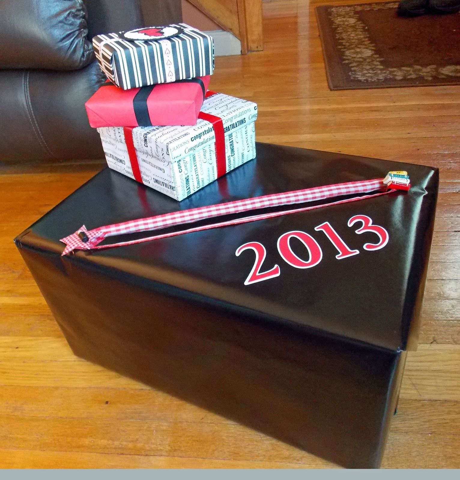 Graduation craziness graduation money money box