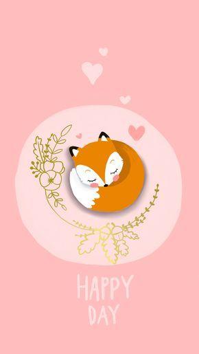 Foxy Mlle Lucky Dessin Renard Fond D Ecran Renard Fond D Ecran Telephone