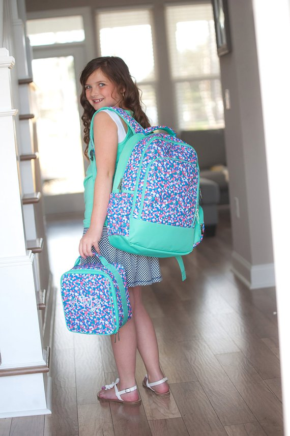 Monogrammed Backpack-Personalized Backpack-Confetti Pop Backpack-Girl s  Backpack-Back To School-Conf f933ed2d8422d