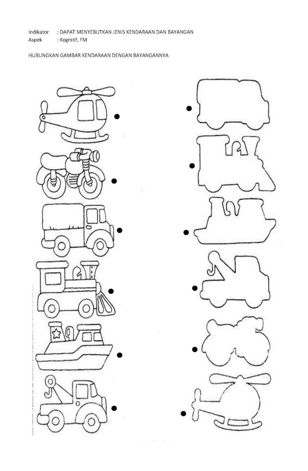 63 Gambar Anak Tk Tema Kendaraan Kekinian