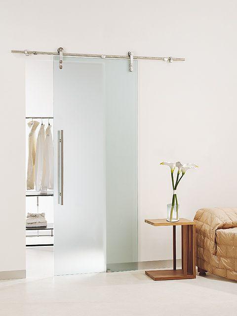 Puerta corredera de cristal casali modelo system acidato for Puerta corredera cristal