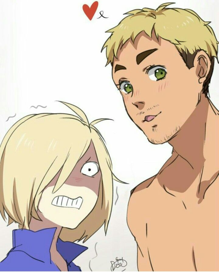 Lol Yurio doesn't like Chris either