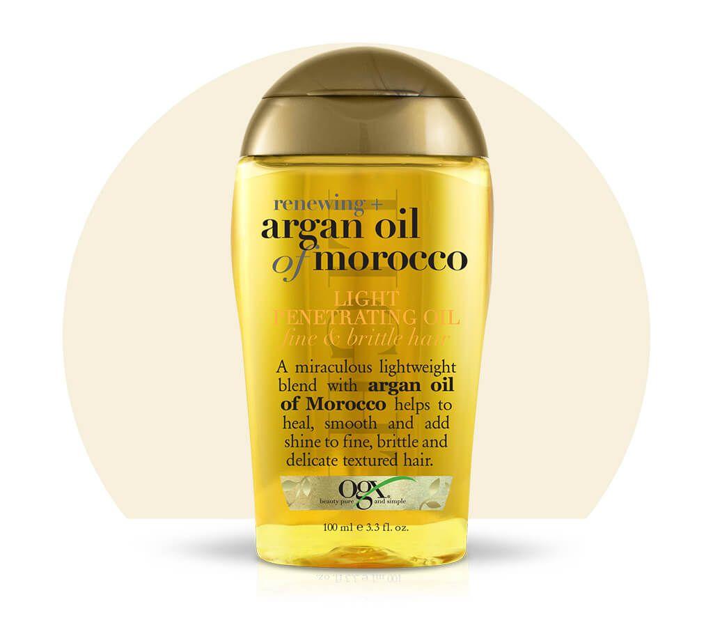 Aceite de argan para el pelo rizado