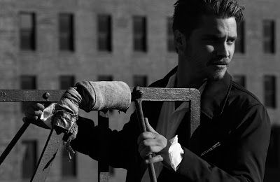 Luke Grimes for At Large Magazine #fiftyshades