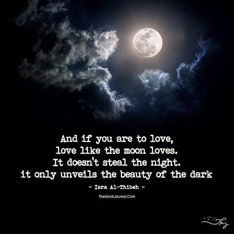 Love Like The Moon Loves