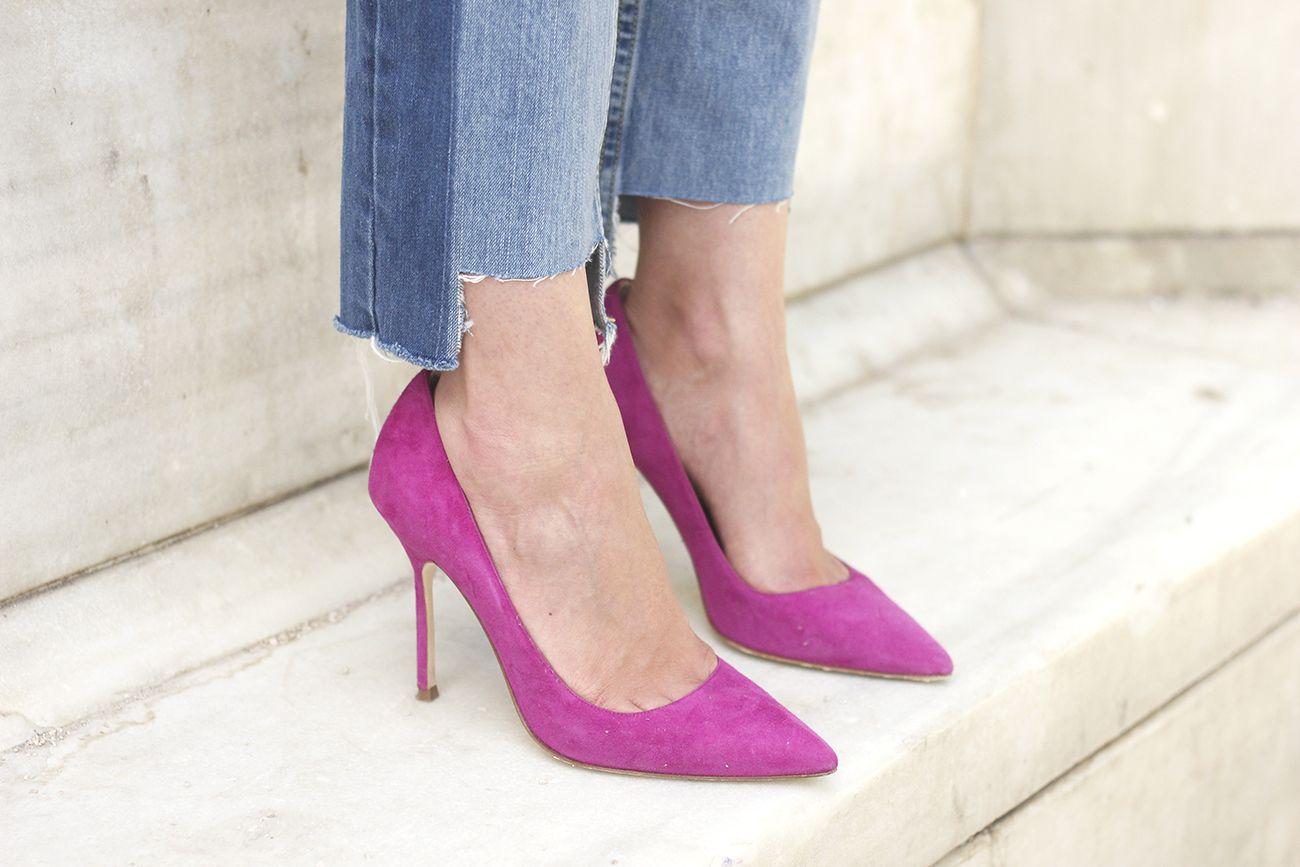 Boyfriend Jeans With Asymmetrical Hems | BeSugarandSpice - Fashion Blog