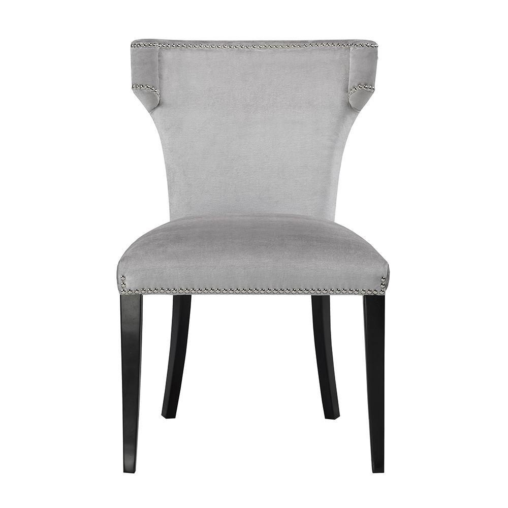 Brooklyn grey velvet dining chair dining chairs velvet