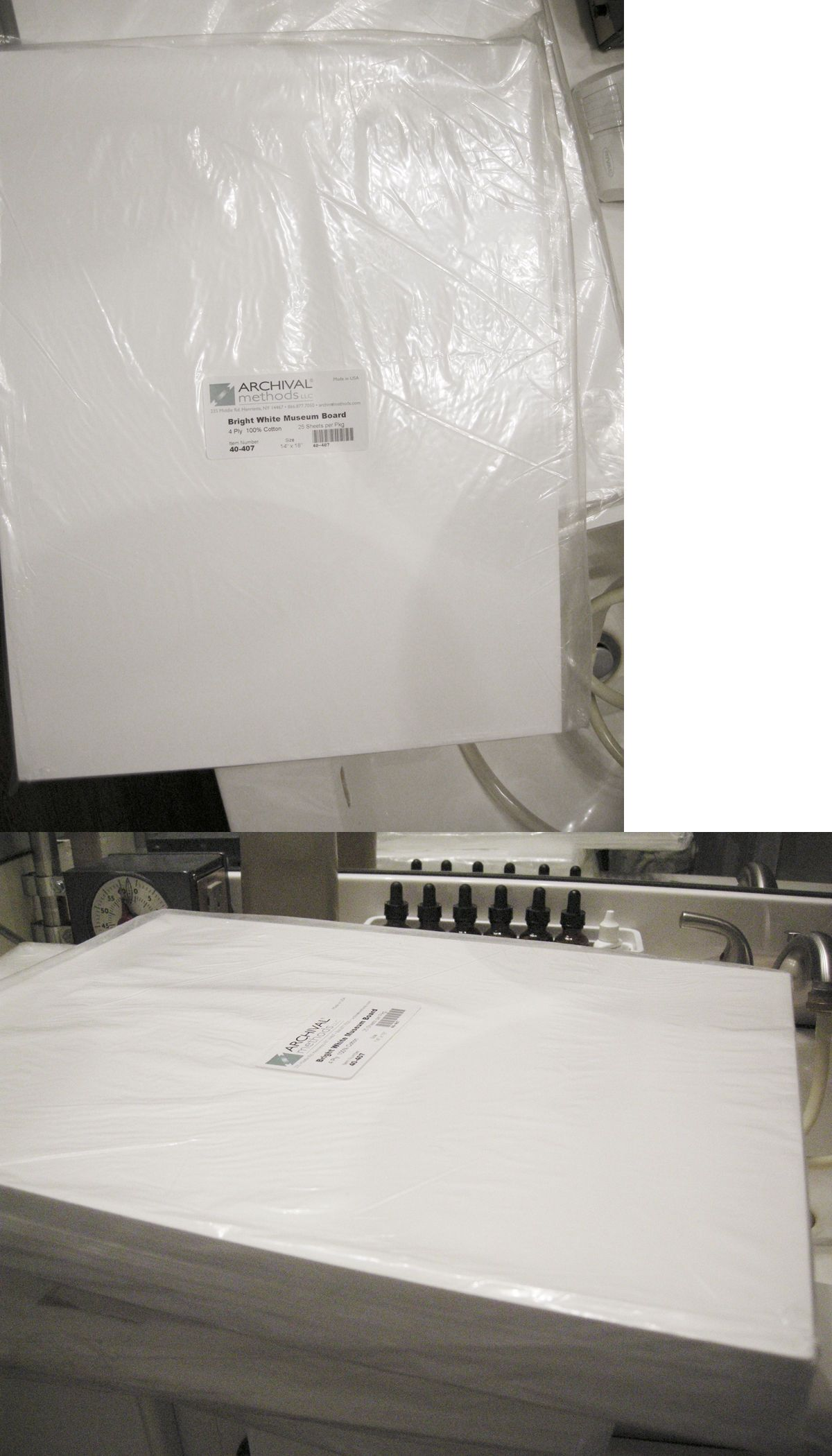 Framing Mats 37576: 14 X 18 Bright White, 100% Cotton Rag Mat ...