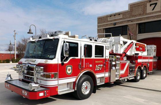 Pierce 95 Foot Aerial Platform Fire Trucks Fire Trucks Pictures