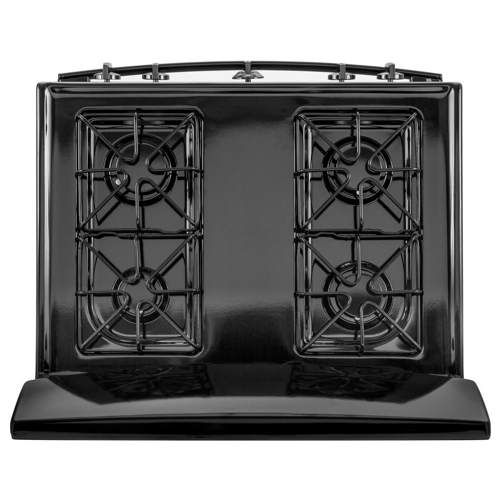 Ge 4 8 Cu Ft Gas Range In Black Jgbs30dekbb The Home Depot In 2020 Gas Range Cool Things To Buy Ge Gas Range
