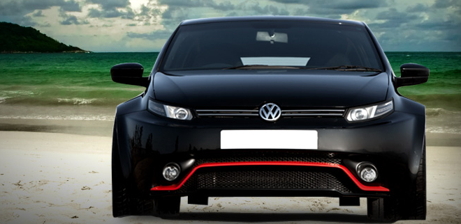 Check Out This Modified Volkswagen Polo By Dc Design 3 Doors New Front And Rear Bigger Tires And Costs Inr 35 Volkswagen Polo Volkswagen Volkswagen Polo Gti