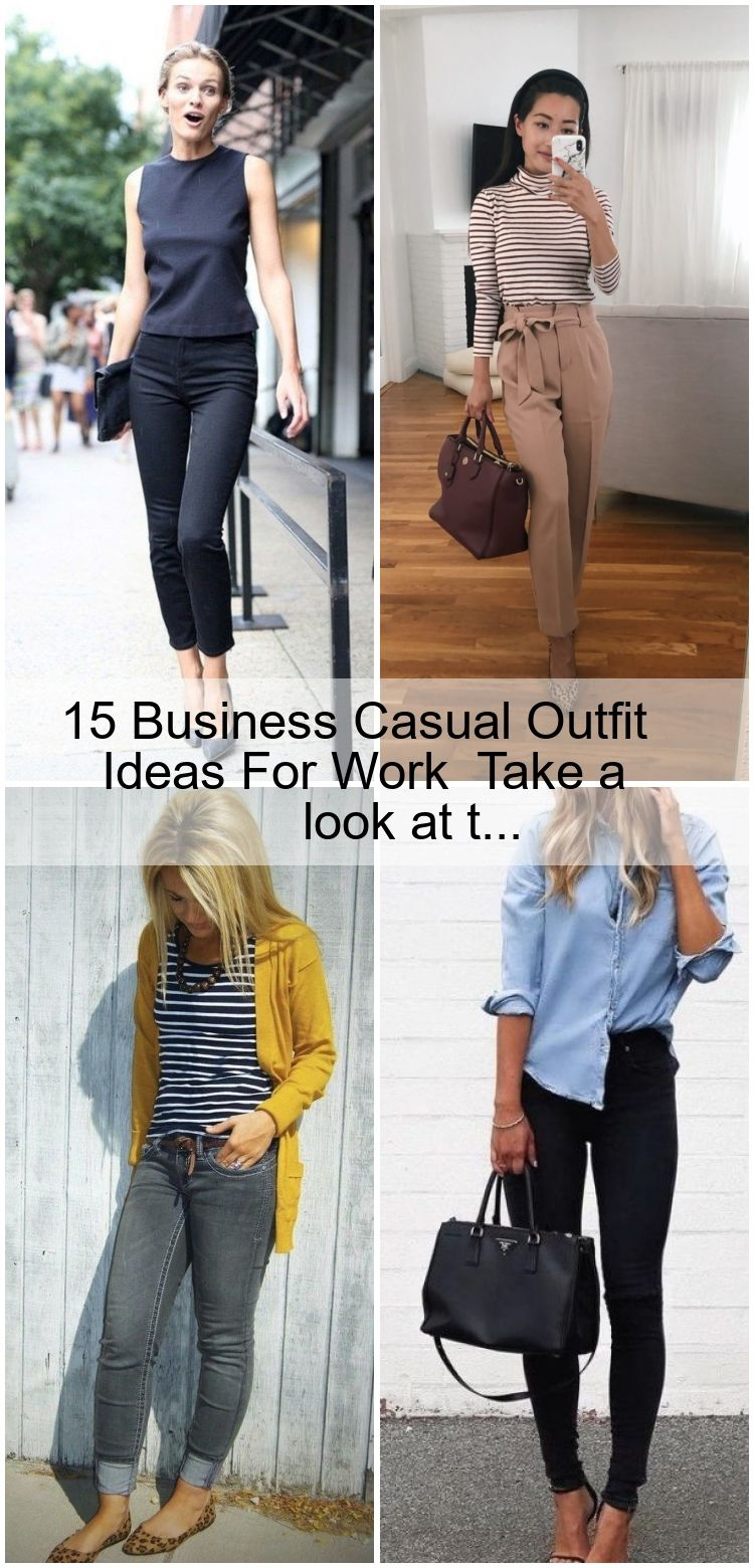 20 Business Casual Outfit Ideas For Work #businesscasualoutfits