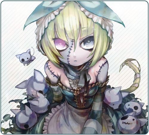 scary shadow anime girl - Google Search   cute art