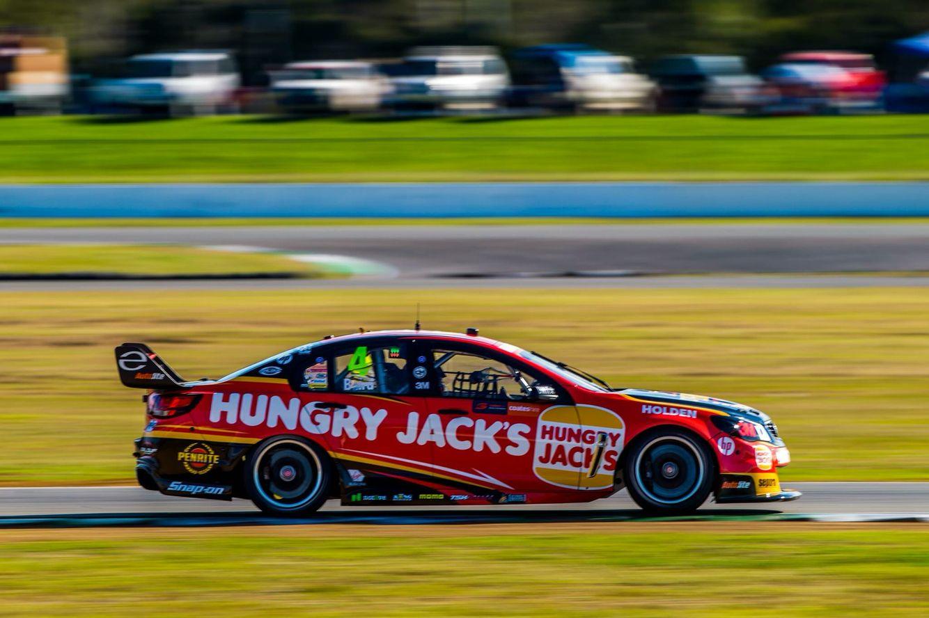 Erebus Craig Baird 2016 Qld Raceway Australian V8 Supercars Motorsport Super Cars