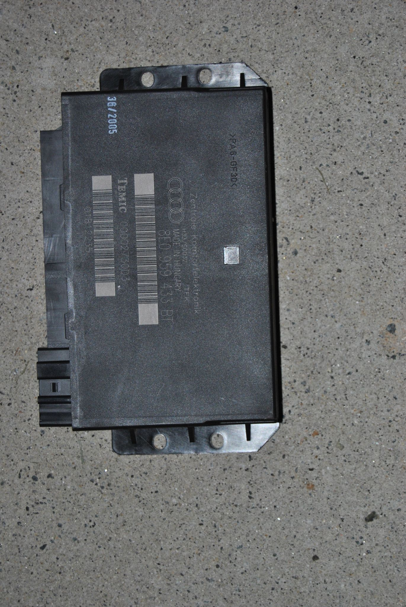 05 06 07 08 Audi A4 Ccm Comfort Control Module 8e0959433bt