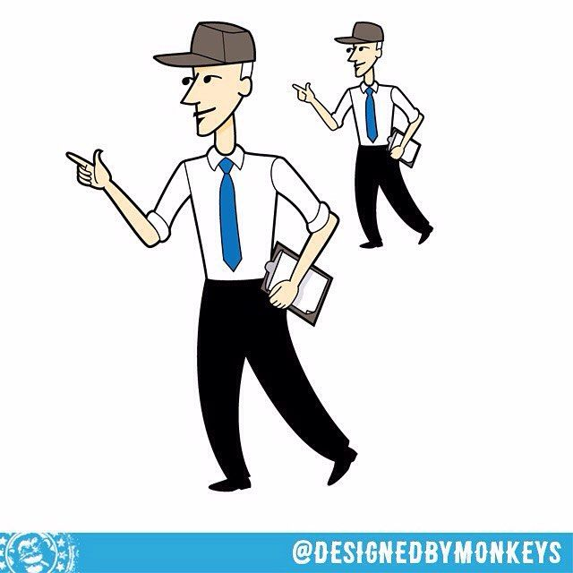 Round 4a of character development for Rural Water Resources #designedbymonkeys @gozdca  Then I took him did the mark-ups asked for (eyes from one of the other versions) and created the tiny version as well (so the linework would be consistent minor changes in detail quantity and shape were made)  #characterdevelopment #sketch #sketchesoninstagram #wip #workinprogress #characterstudy #pencils #illustration #productmascot #mascot #ruralwaterresources #illustrationwork #illustrationart…